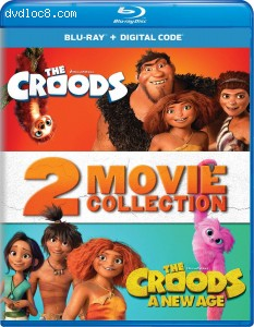 Cover Image for 'The Croods: 2-Movie Collection [Blu-ray + Digital]'