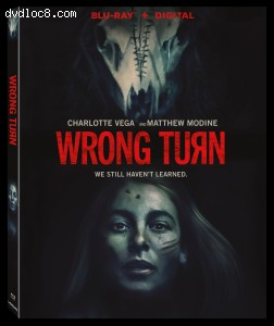 Cover Image for 'Wrong Turn [Blu-ray + Digital]'