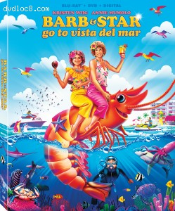 Cover Image for 'Barb and Star Go to Vista Del Mar [Blu-ray + DVD + Digital]'