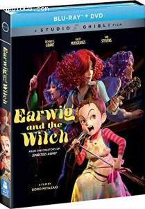Cover Image for 'Earwig and the Witch [Blu-ray + DVD]'