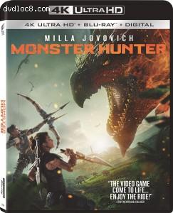 Cover Image for 'Monster Hunter [4K Ultra HD + Blu-ray + Digital]'