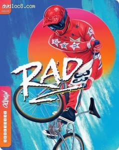 Cover Image for 'Rad (SteelBook / Mondo X #46) [Blu-ray + Digital]'
