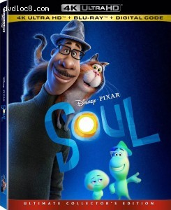 Cover Image for 'Soul [4K Ultra HD + Blu-ray + Digital]'