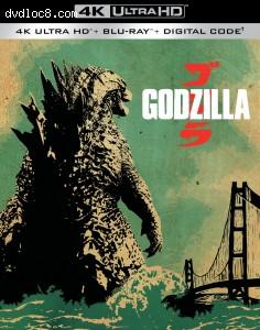 Cover Image for 'Godzilla [4K Ultra HD + Blu-ray + Digital]'