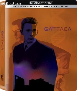 Cover Image for 'Gattaca (SteelBook) [4K Ultra HD + Blu-ray + Digital]'