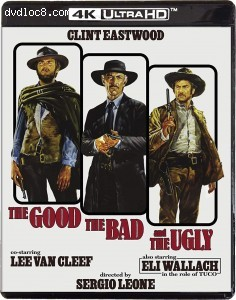 Cover Image for 'Good, The Bad and The Ugly, The [4K Ultra HD + Blu-ray]'