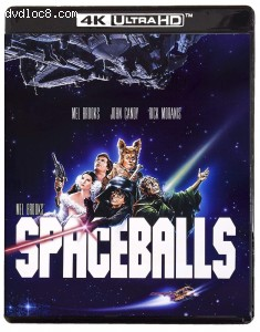 Cover Image for 'Spaceballs [4K Ultra HD + Blu-ray]'
