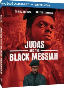 Cover Image for 'Judas and the Black Messiah [Blu-ray + Digital]'