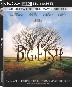Cover Image for 'Big Fish [4K Ultra HD + Blu-ray + Digital]'
