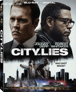 Cover Image for 'City of Lies [Blu-ray + Digital]'