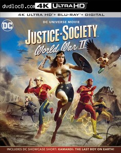 Cover Image for 'Justice Society: World War II [4K Ultra HD + Blu-ray + Digital]'