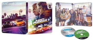 Cover Image for 'Fast and the Furious, The (SteelBook / 20th Anniversary Edition) [4K Ultra HD + Blu-ray + Digital]'