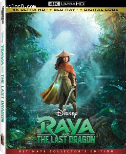 Cover Image for 'Raya and the Last Dragon [4K Ultra HD + Blu-ray + Digital]'