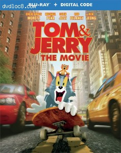 Cover Image for 'Tom & Jerry [Blu-ray + Digital]'