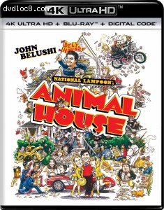 Cover Image for 'Animal House [4K Ultra HD + Blu-ray + Digital]'