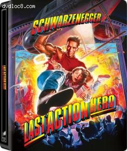 Cover Image for 'Last Action Hero (SteelBook) [4K Ultra HD + Blu-ray + Digital]'
