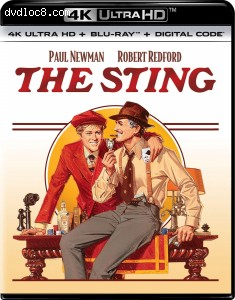Cover Image for 'Sting, The [4K Ultra HD + Blu-ray + Digital]'