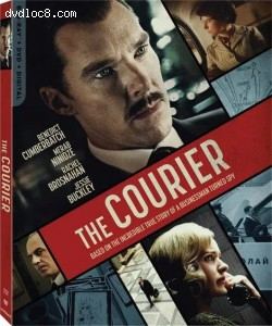 Cover Image for 'Courier, The [Blu-ray + DVD + Digital]'