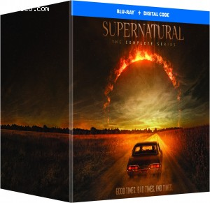 Cover Image for 'Supernatural: The Complete Series [Blu-ray + Digital]'