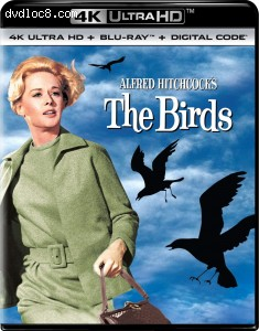Cover Image for 'Birds, The [4K Ultra HD + Blu-ray]'