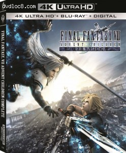 Cover Image for 'Final Fantasy VII: Advent Children [4K Ultra HD + Blu-ray + Digital]'