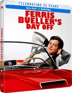 Cover Image for 'Ferris Bueller's Day Off (35th Anniversary SteelBook) [Blu-ray + Digital]'