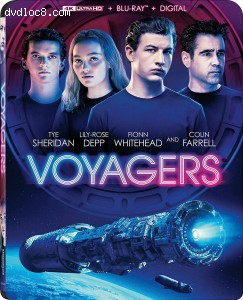 Cover Image for 'Voyagers [4K Ultra HD + Blu-ray + Digital]'