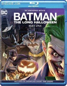 Cover Image for 'Batman: The Long Halloween, Part One [Blu-ray + Digital]'