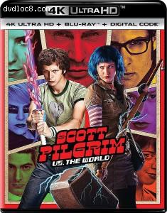 Cover Image for 'Scott Pilgrim Vs. The World [4K Ultra HD + Blu-ray + Digital]'