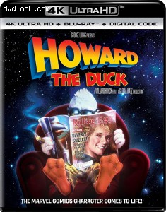 Cover Image for 'Howard The Duck [4K Ultra HD + Blu-ray + Digital]'