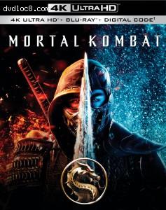Cover Image for 'Mortal Kombat [4K Ultra HD + Blu-ray + Digital]'