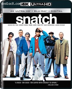 Cover Image for 'Snatch [4K Ultra HD + Blu-ray + Digital]'