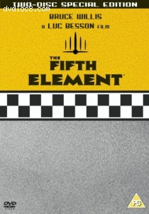 Fifth Element, The (2 disc special edition region 2) Cover