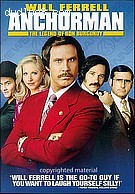 Anchorman: The Legend of Ron Burgundy  (Rated, Full Screen)