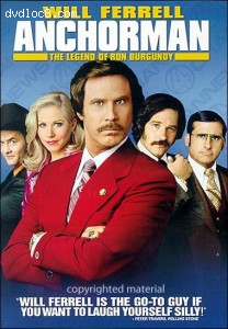 Anchorman: The Legend Of Ron Burgundy (Rated) (Fullscreen)
