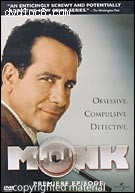 Monk: The Premiere Episode Cover
