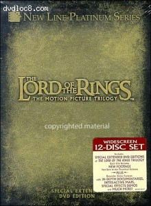 Lord Of The Rings: Special Extended Edition 3 Pack Cover