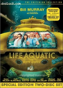 Life Aquatic With Steve Zissou, The (2-Disc Criterion) Cover