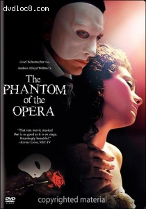 Phantom Of The Opera, The (Fullscreen)